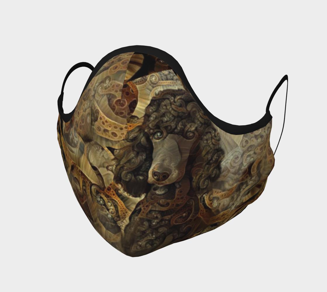Pristine Standard Poodle Mia - Mask preview