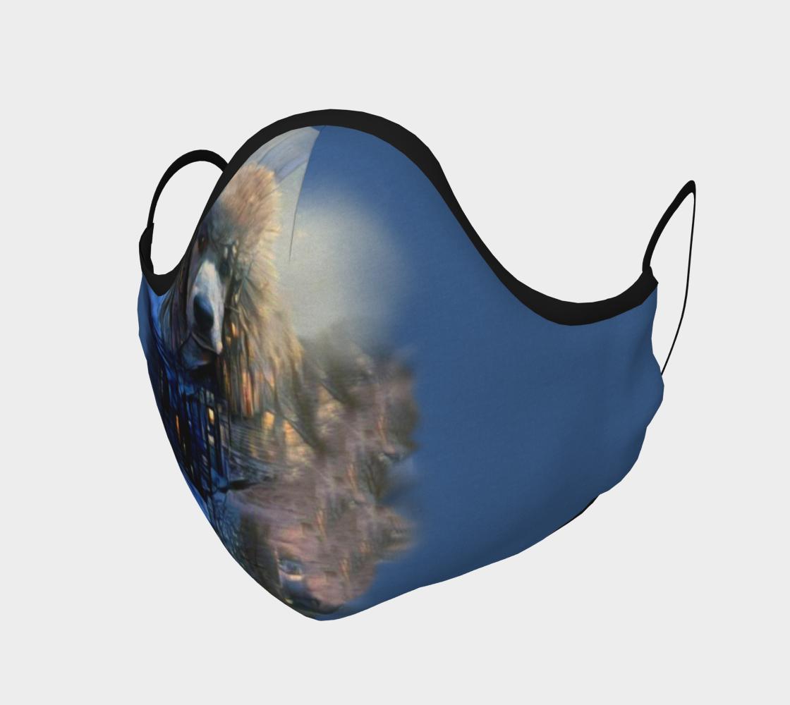 Pristine Standard Poodles Ryder - Mask preview