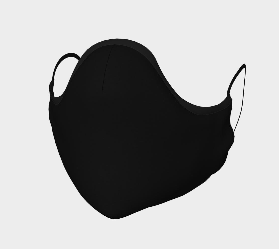 Night Black Face Mask preview