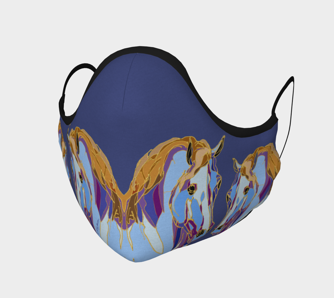 Blue Mares Mask preview