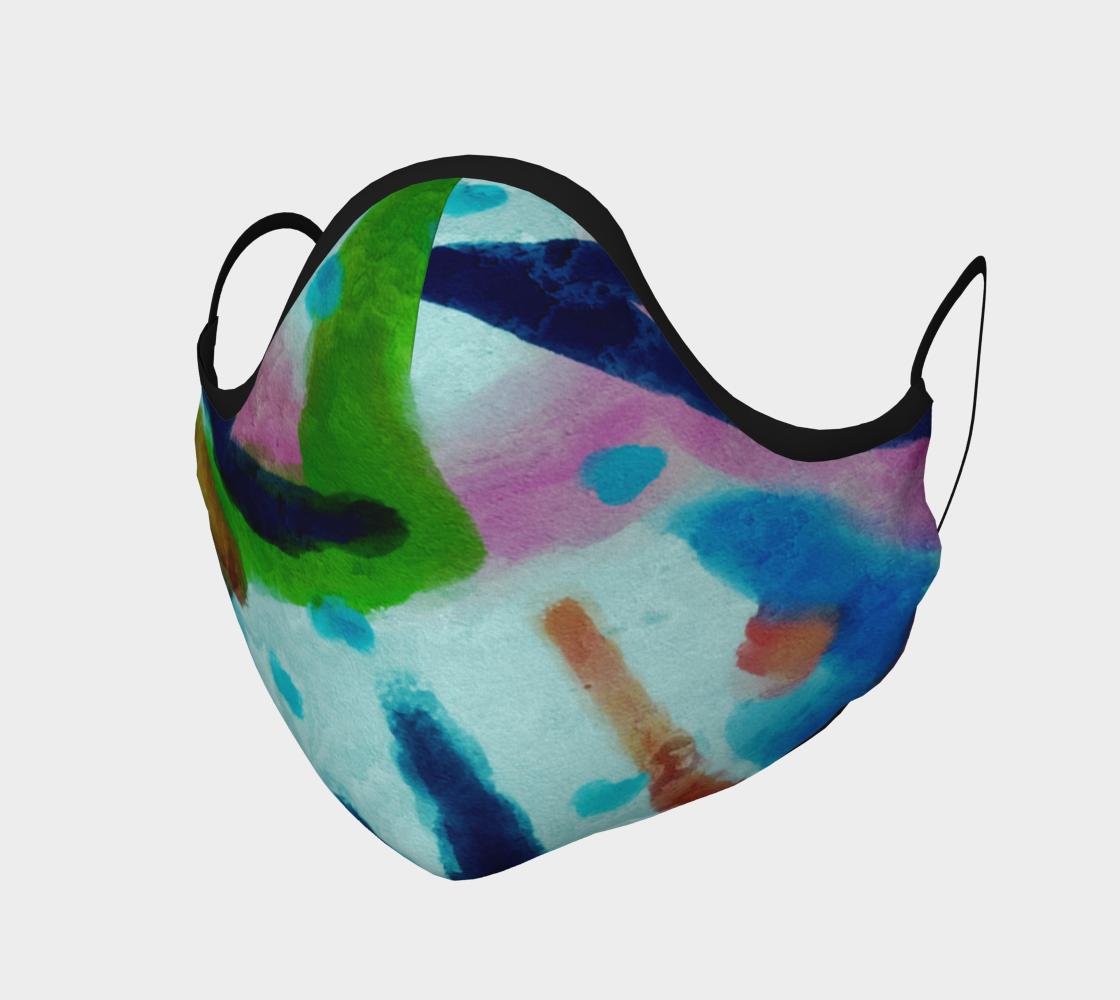 Aperçu de Original Abstract Art Face Mask