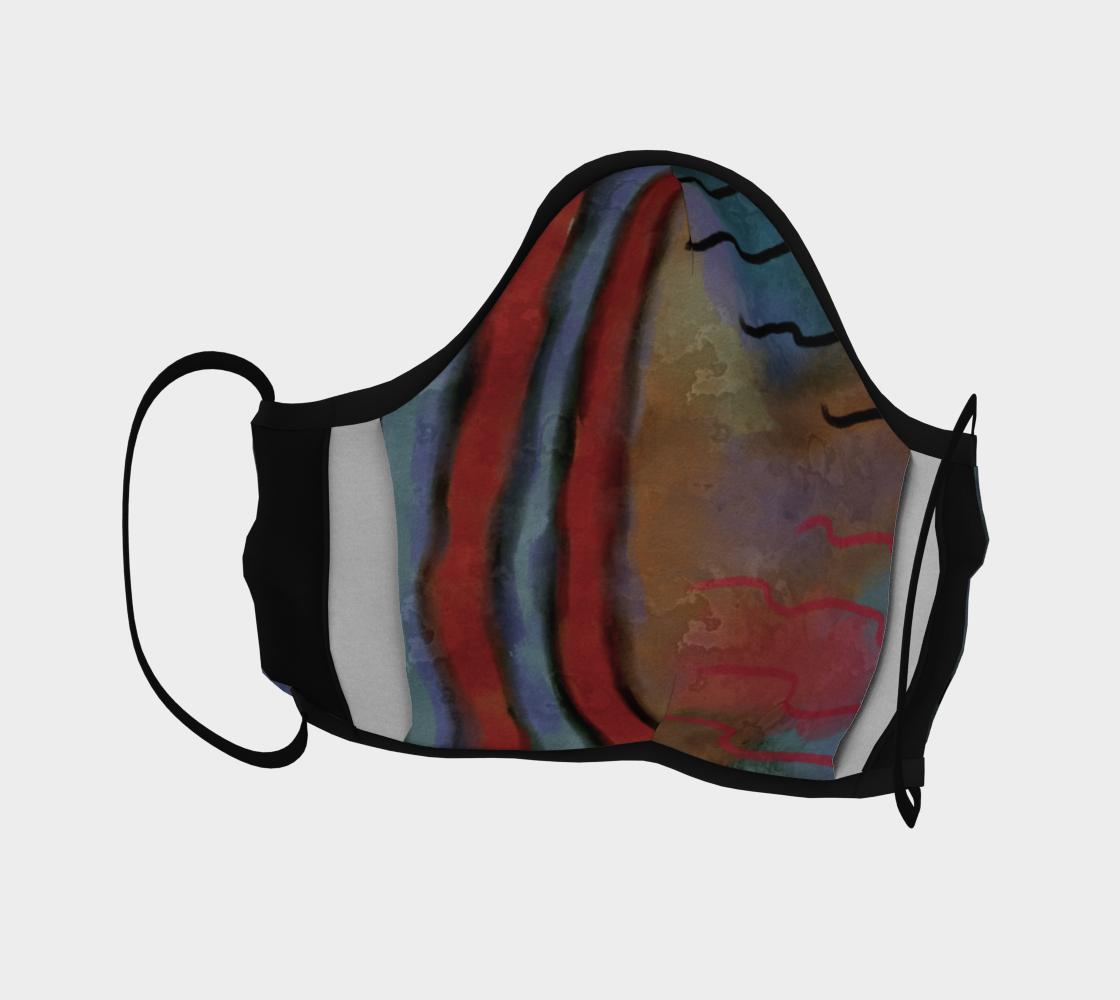 Aperçu de Original Abstract Art Face Mask #4