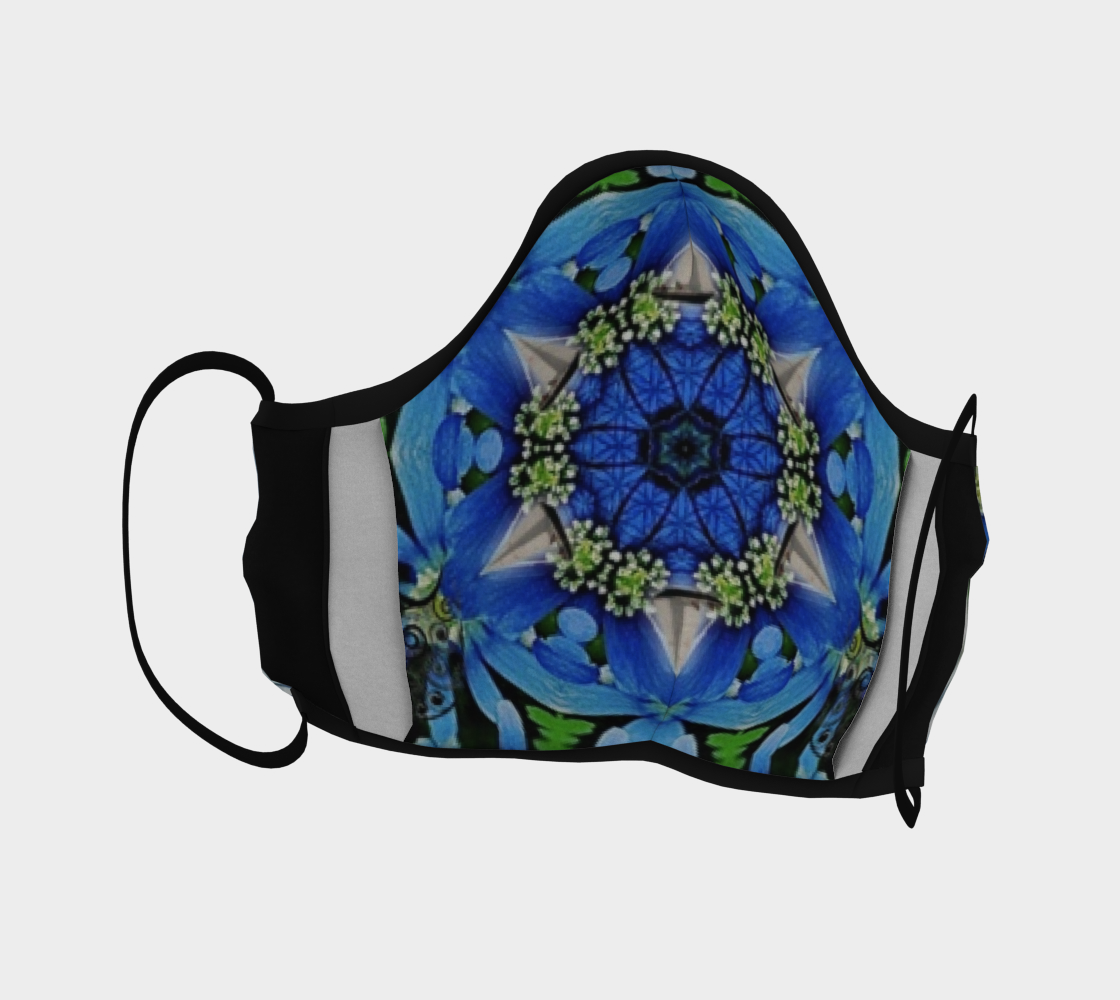 Windflower Sailboat Mask preview #4