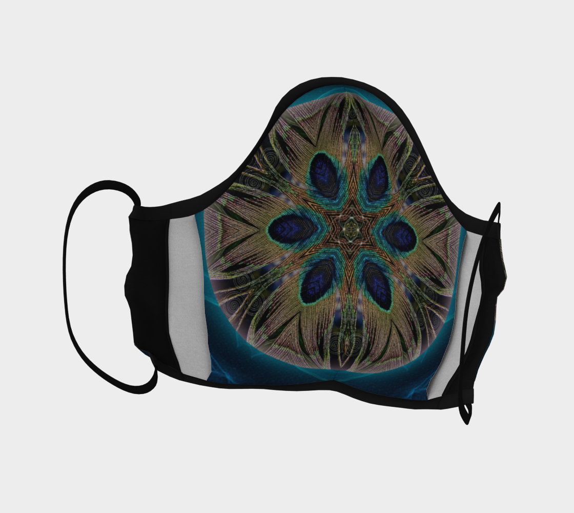 Peacock Power Mask preview #4