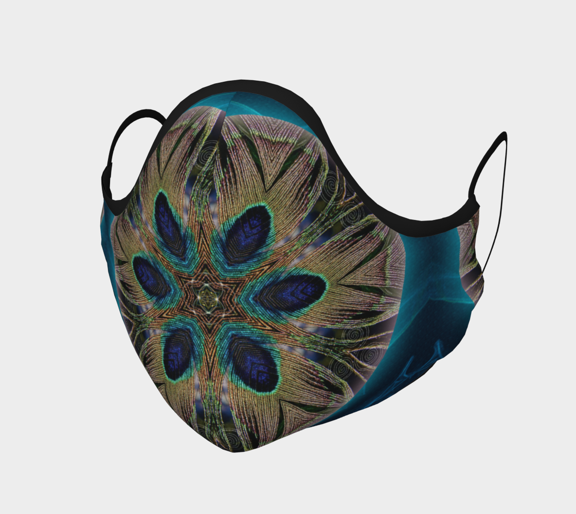 Peacock Power Mask preview