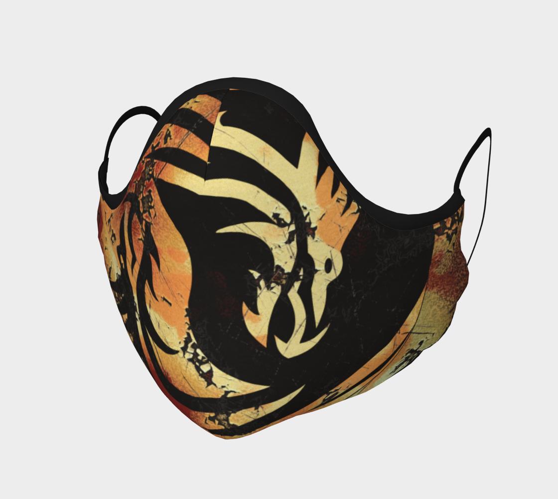 Asian Yin and Yang Dragons preview