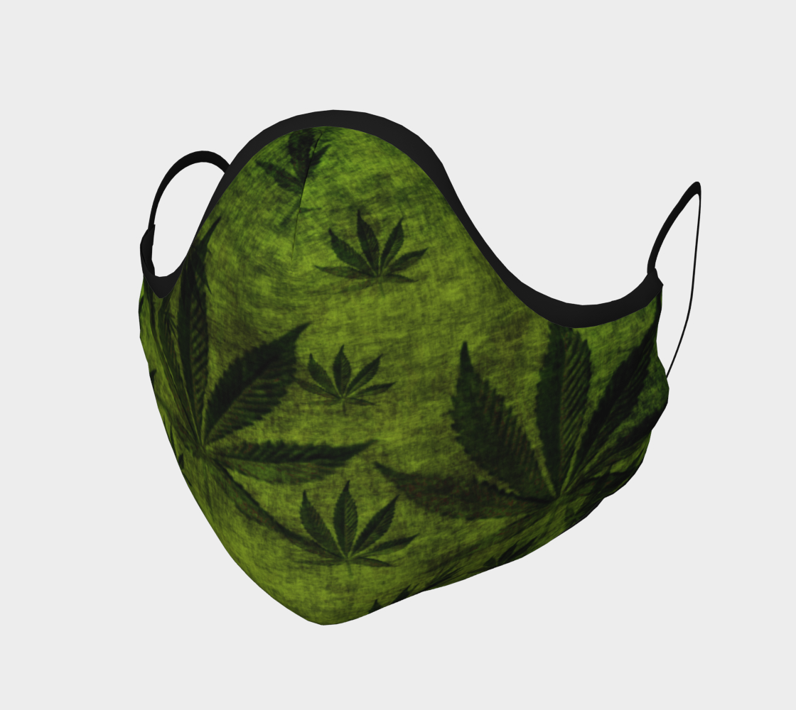 Grunge Marijuana Pot Leaf Design preview