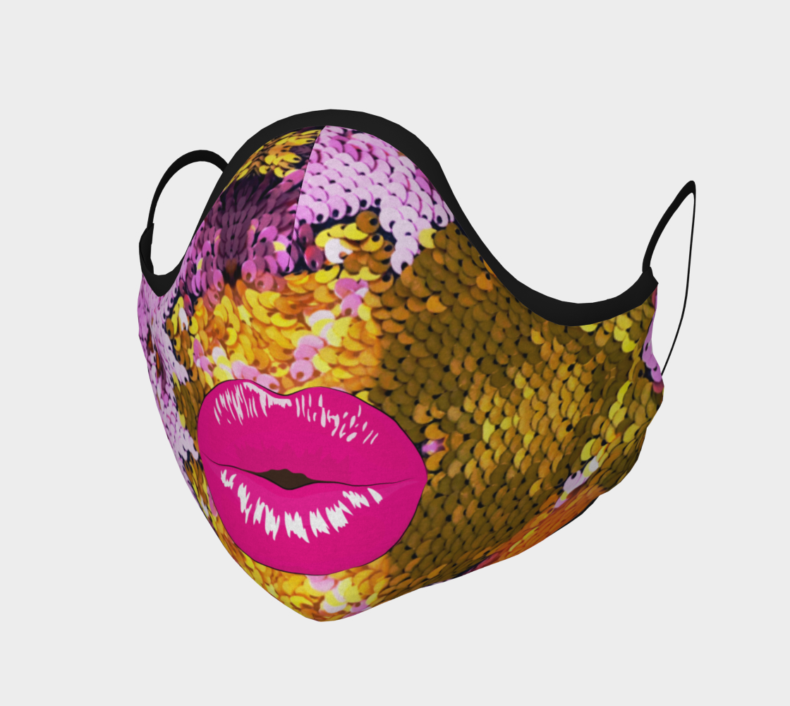 Aperçu de Mermaid Kisses Face Cover