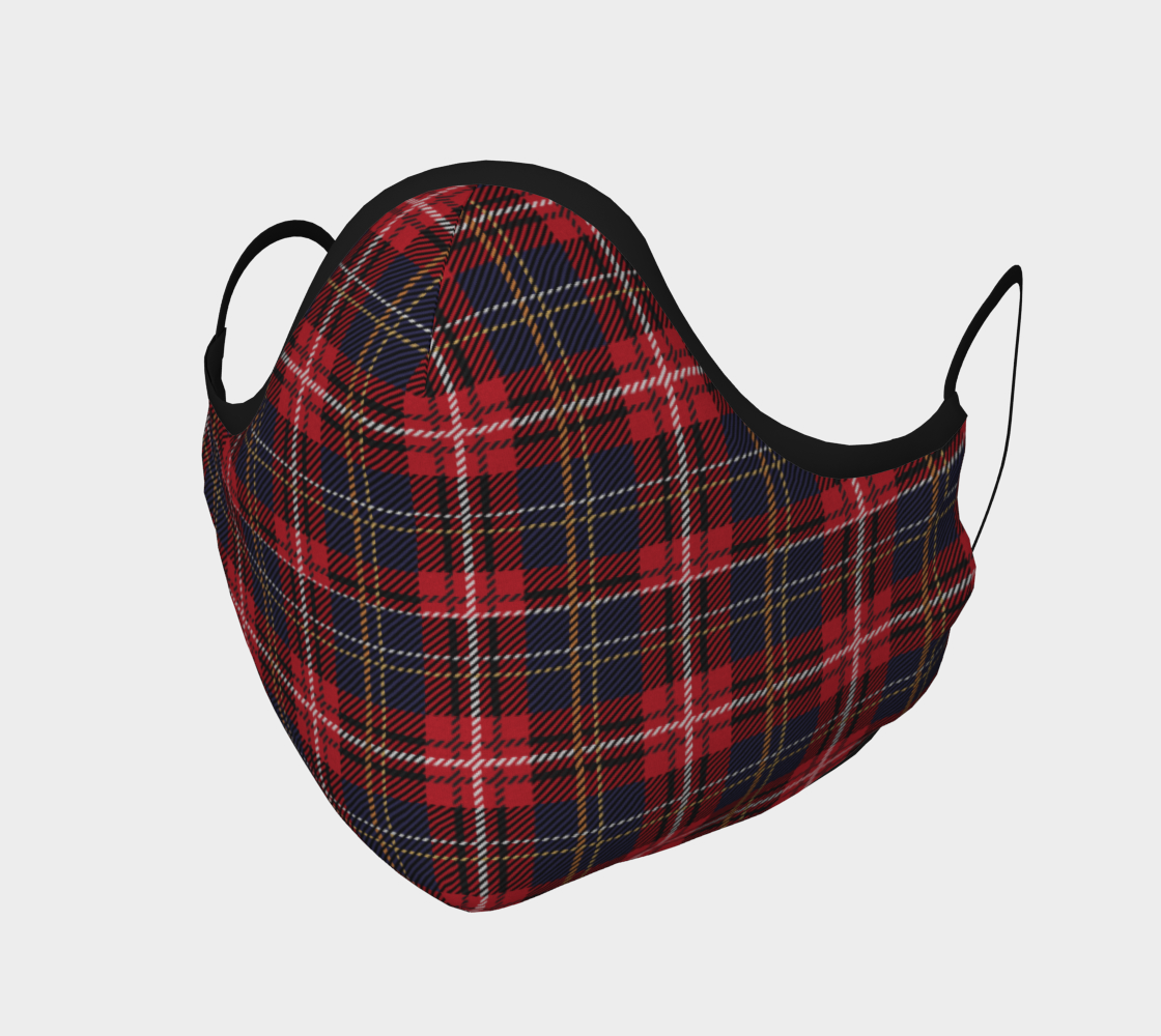 Scottish Red Tartan preview