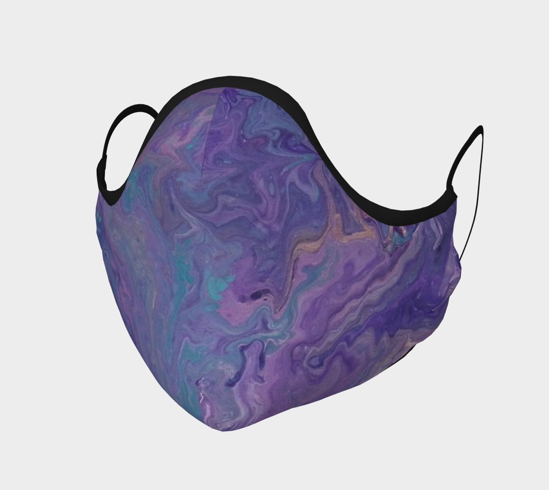 Aperçu de Lilac Ocean Face Covering