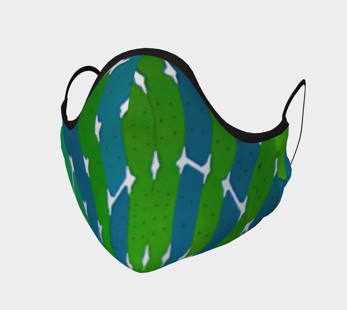 Blue & Green Abstract Shapes preview