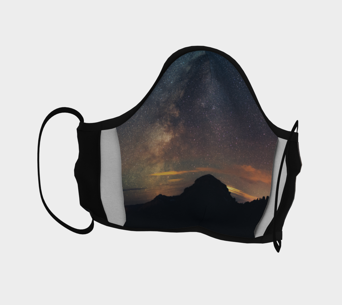 Crowsnest Mountain Milky Way by  Lisa Kinnear preview #4
