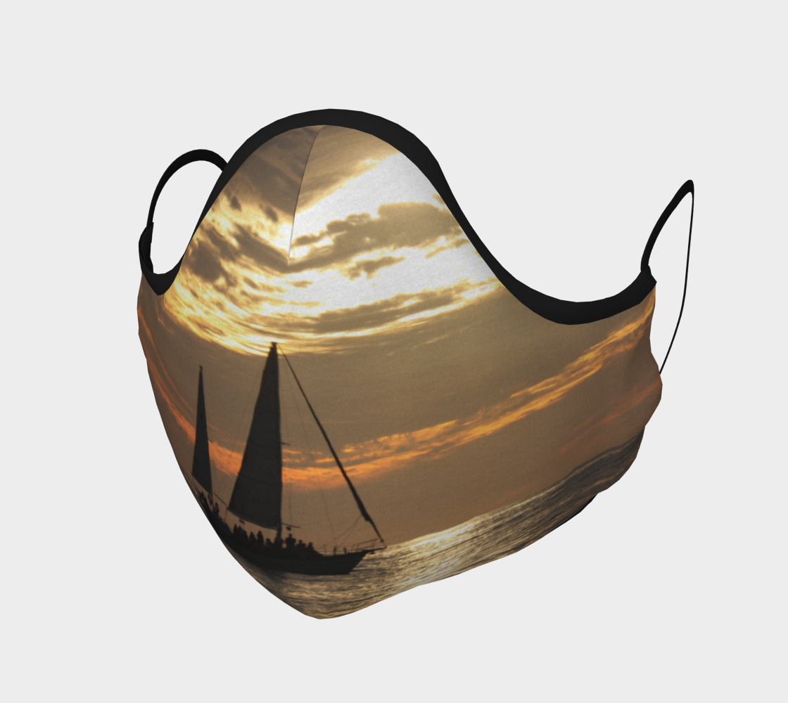 Sailboat on Sunset Waters  preview