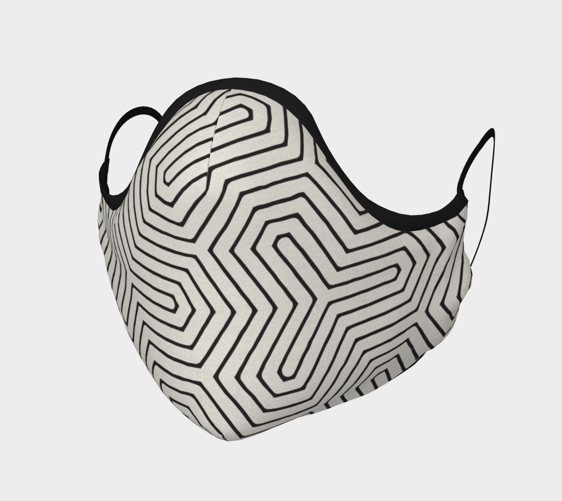 Geometric Black and White Modern Pattern  preview