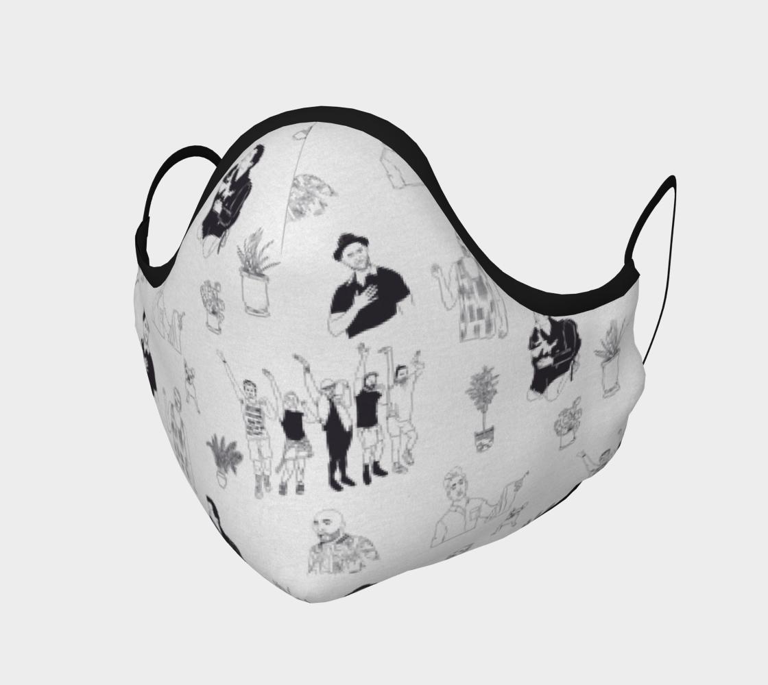 Aperçu de Queer Eye Face Mask