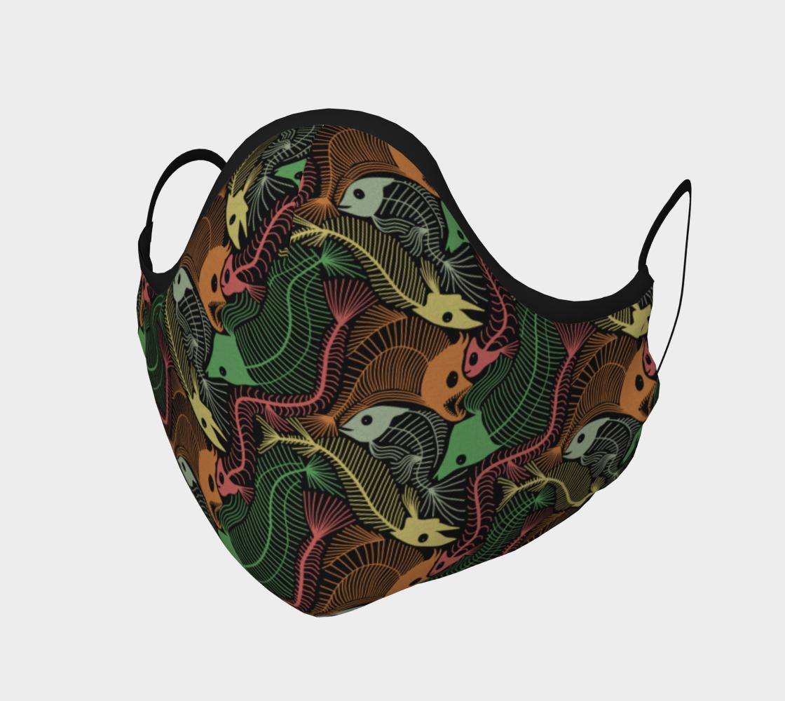 Fish Bones colour pattern preview #1