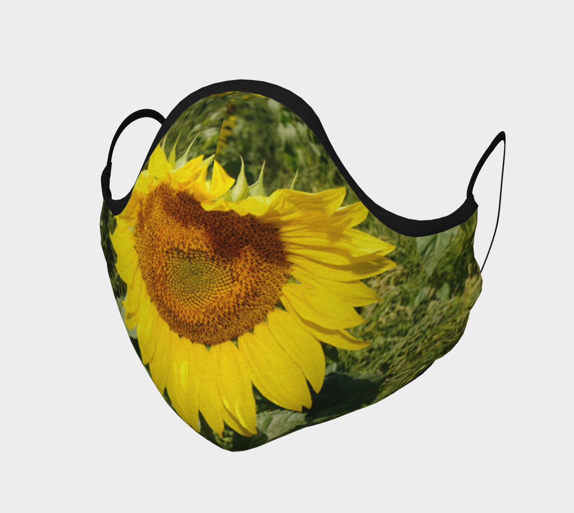 Large Sunflower Mask preview