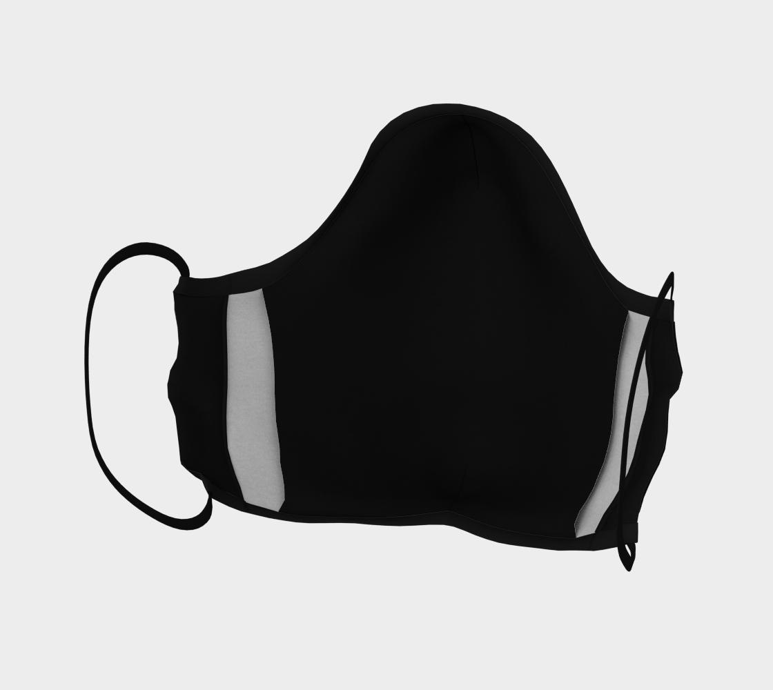 Aperçu de Vote Stars Stripes Mask on Black #4