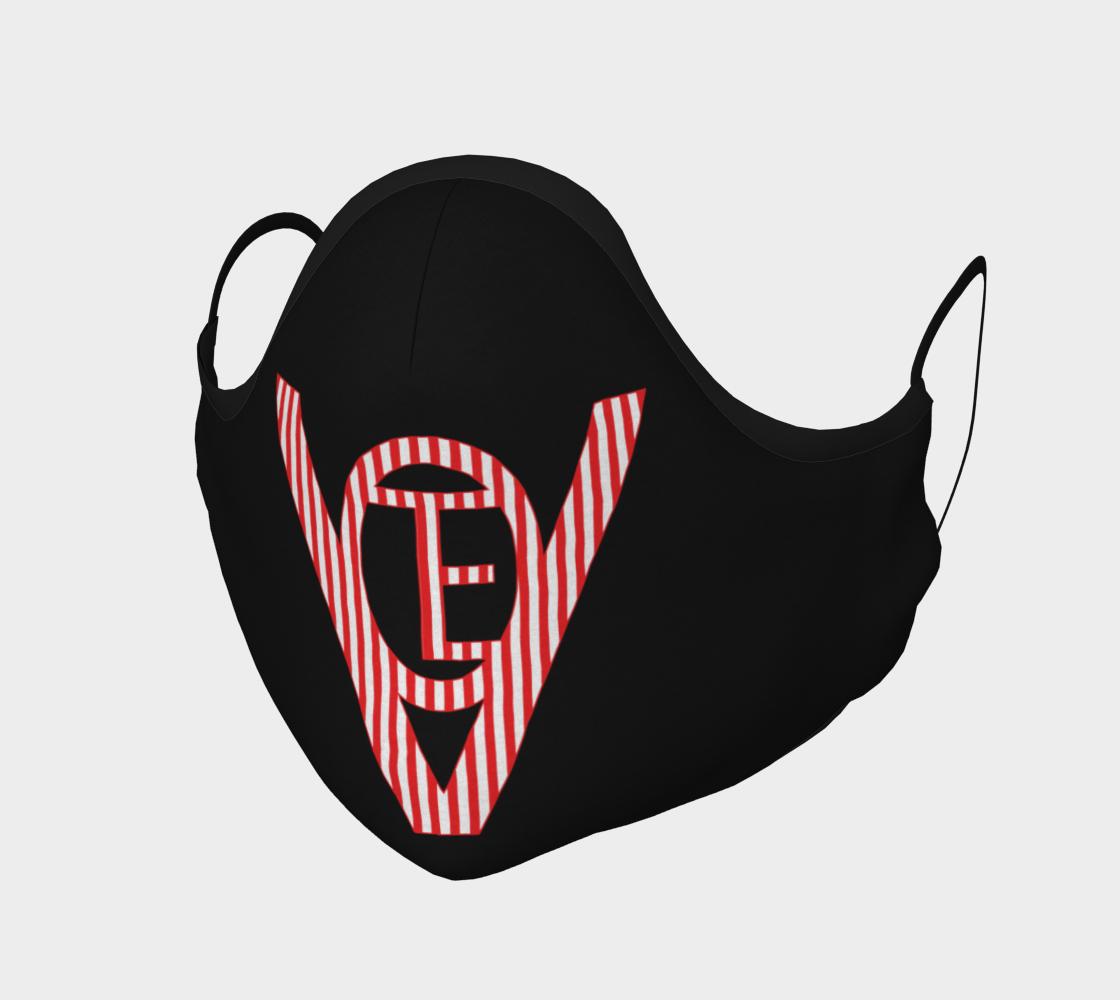 Vote Stripes Mask on Black preview