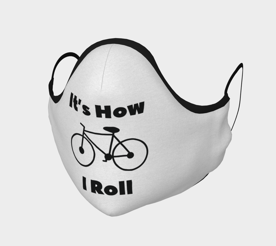 Bike Roll on White Mask preview