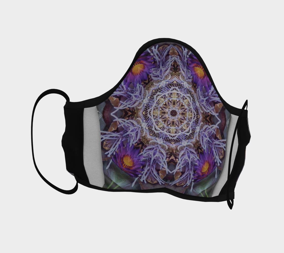 Sacred Emergence Mandala Mask preview #4