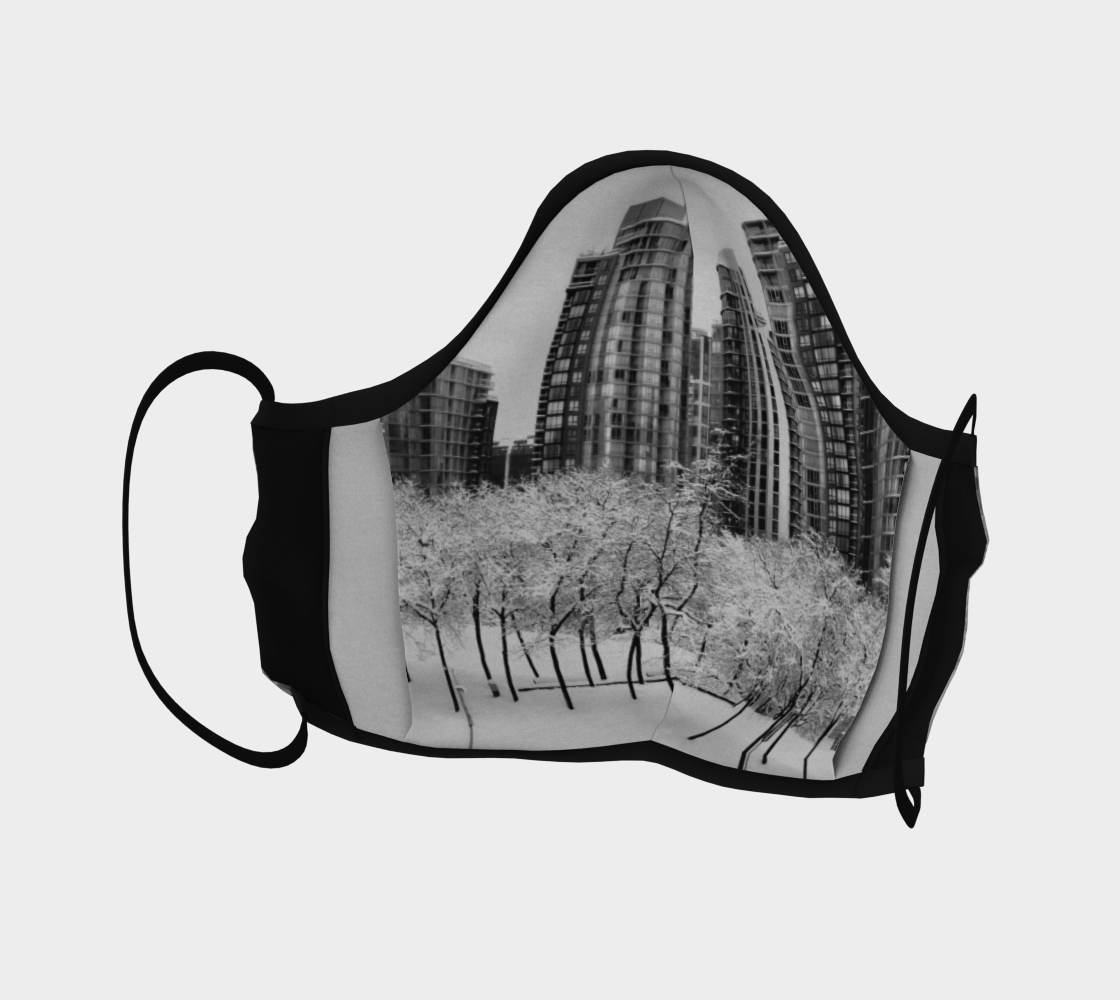 Snow In The City Face Mask preview #4