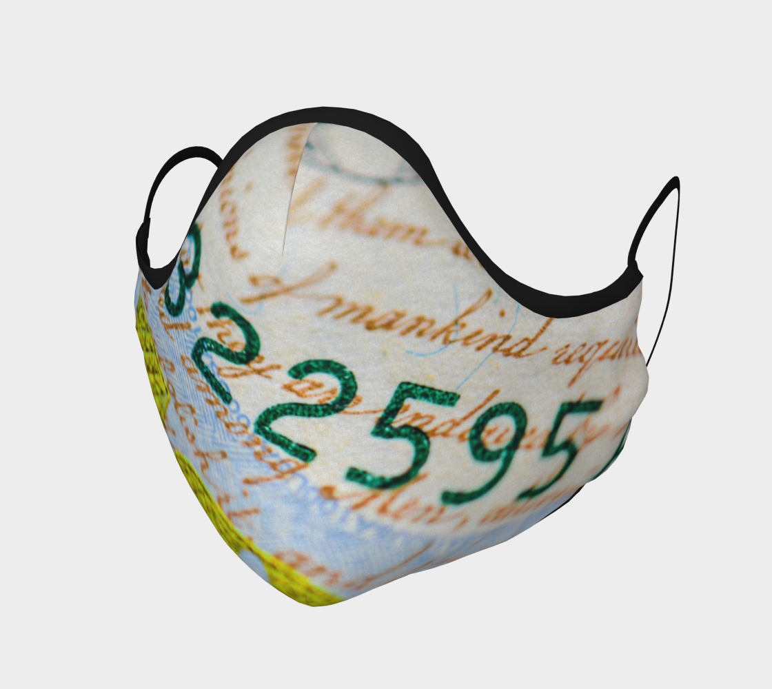 Money Down Face Mask preview