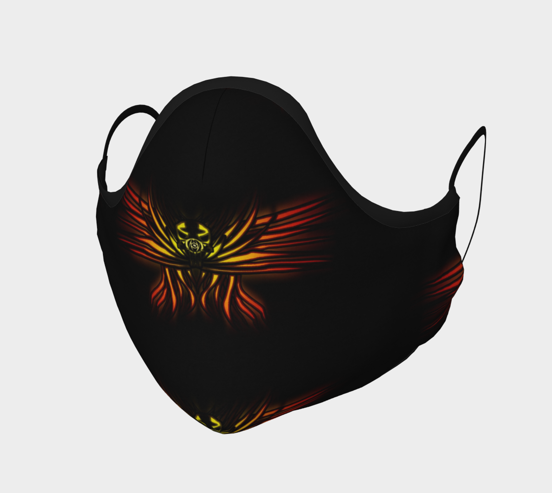 Aperçu de Seraphim Skull Face Mask #1