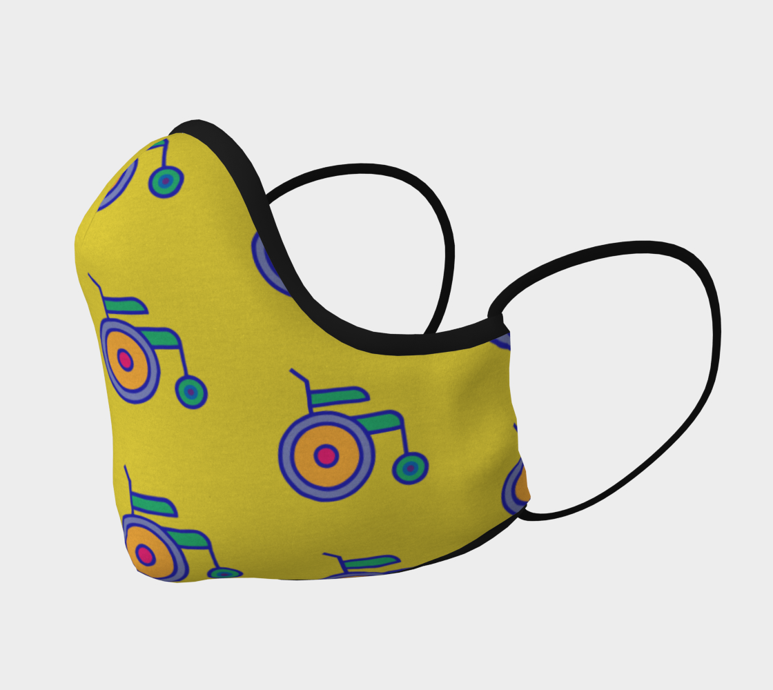 Wheelchair Mask preview #2