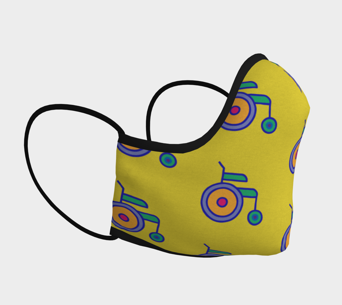 Wheelchair Mask preview #3
