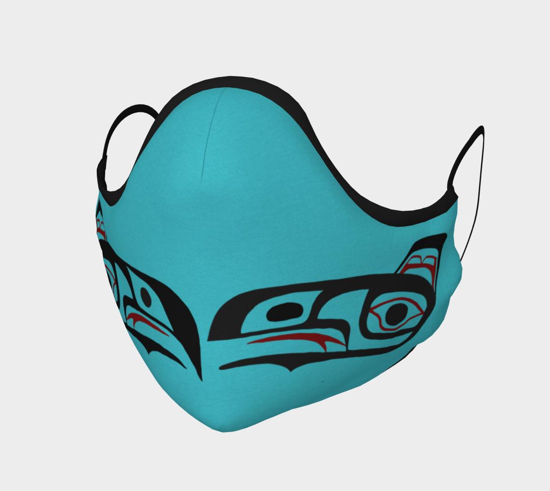 Northwest Art Tlingit Eagle Raven Facemask - Eagle on Reverse Side preview