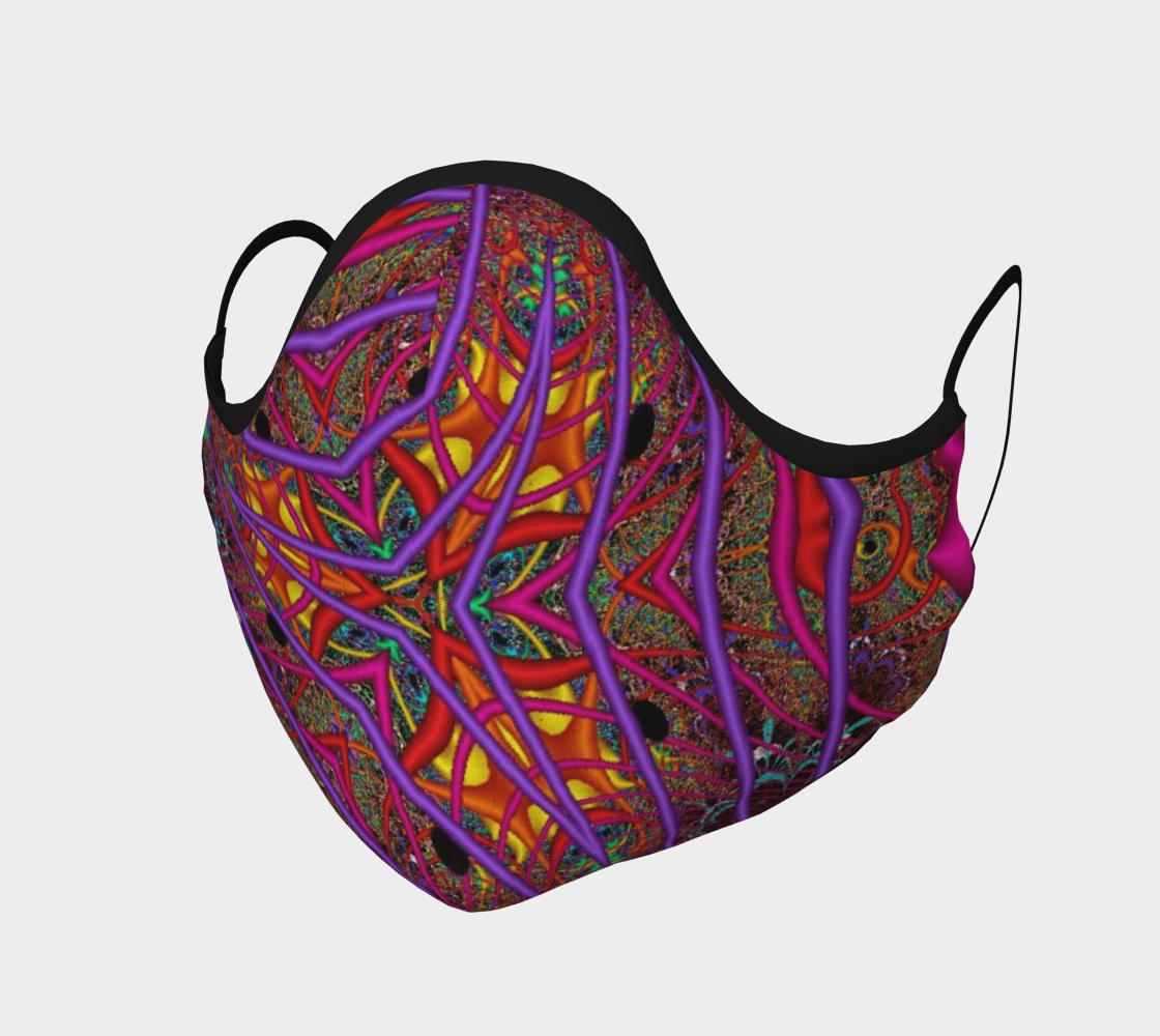 Aperçu de Wormhole Lace Face Covering