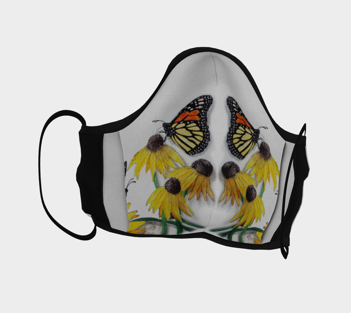 Monarch Butterflies & Flowers 2 preview #4