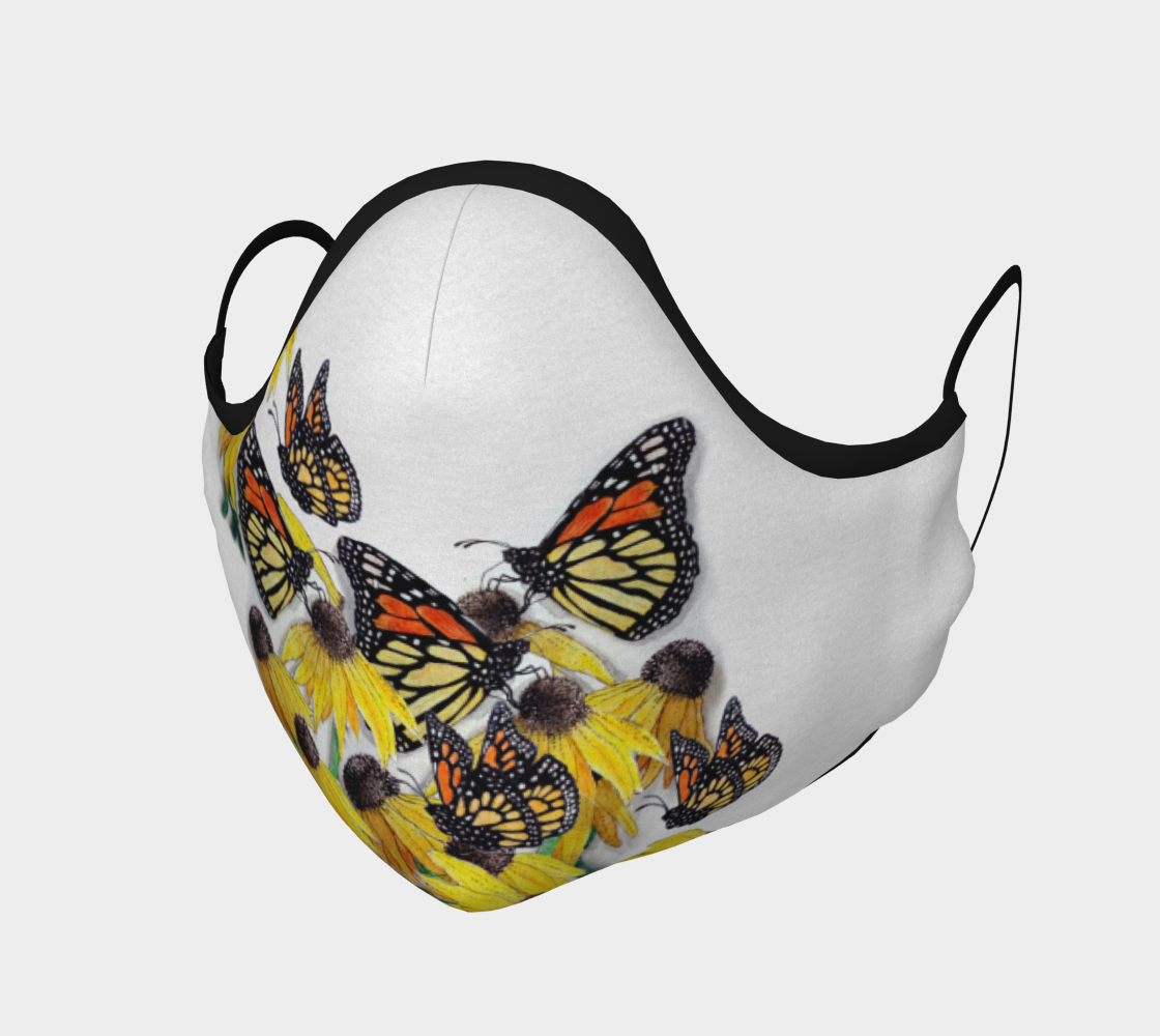 Monarch Butterflies & Flowers 2 preview #1