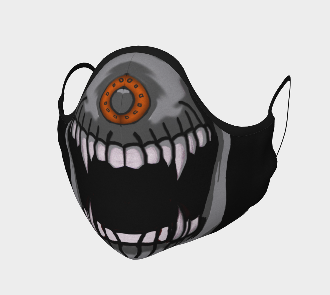 Skull Pierced Nose Mask preview