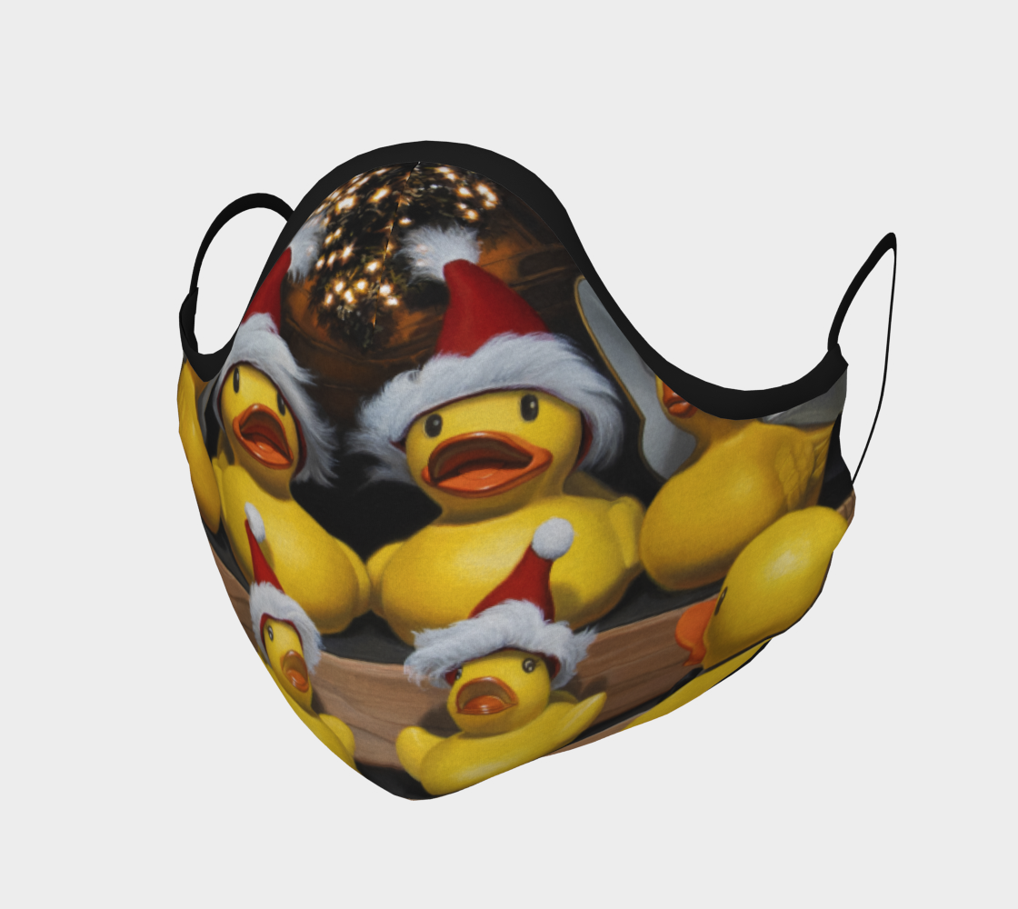 Duck the Halls Face Mask preview
