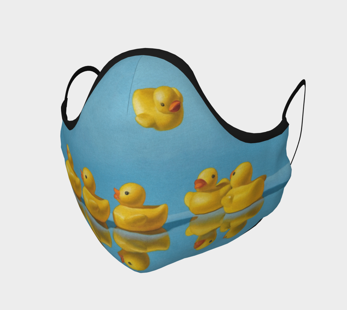 Ducks in a Row Face Mask preview