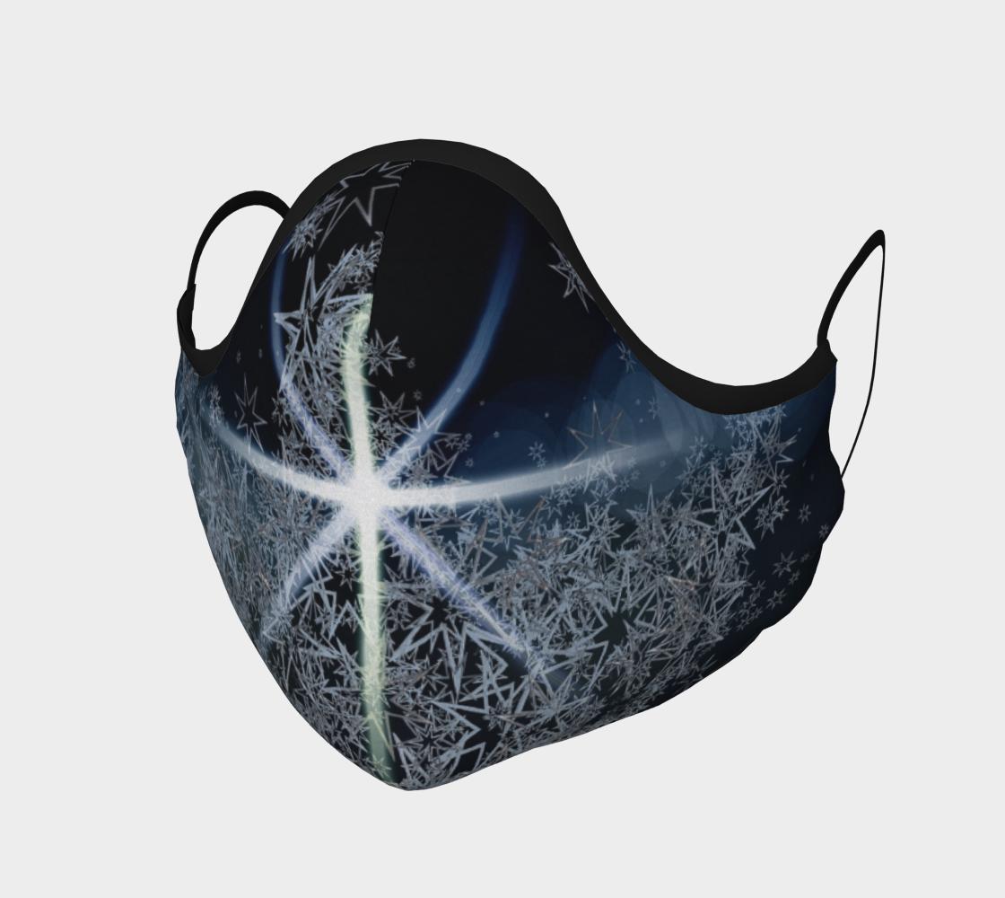Aperçu de Christmas Star Face Mask