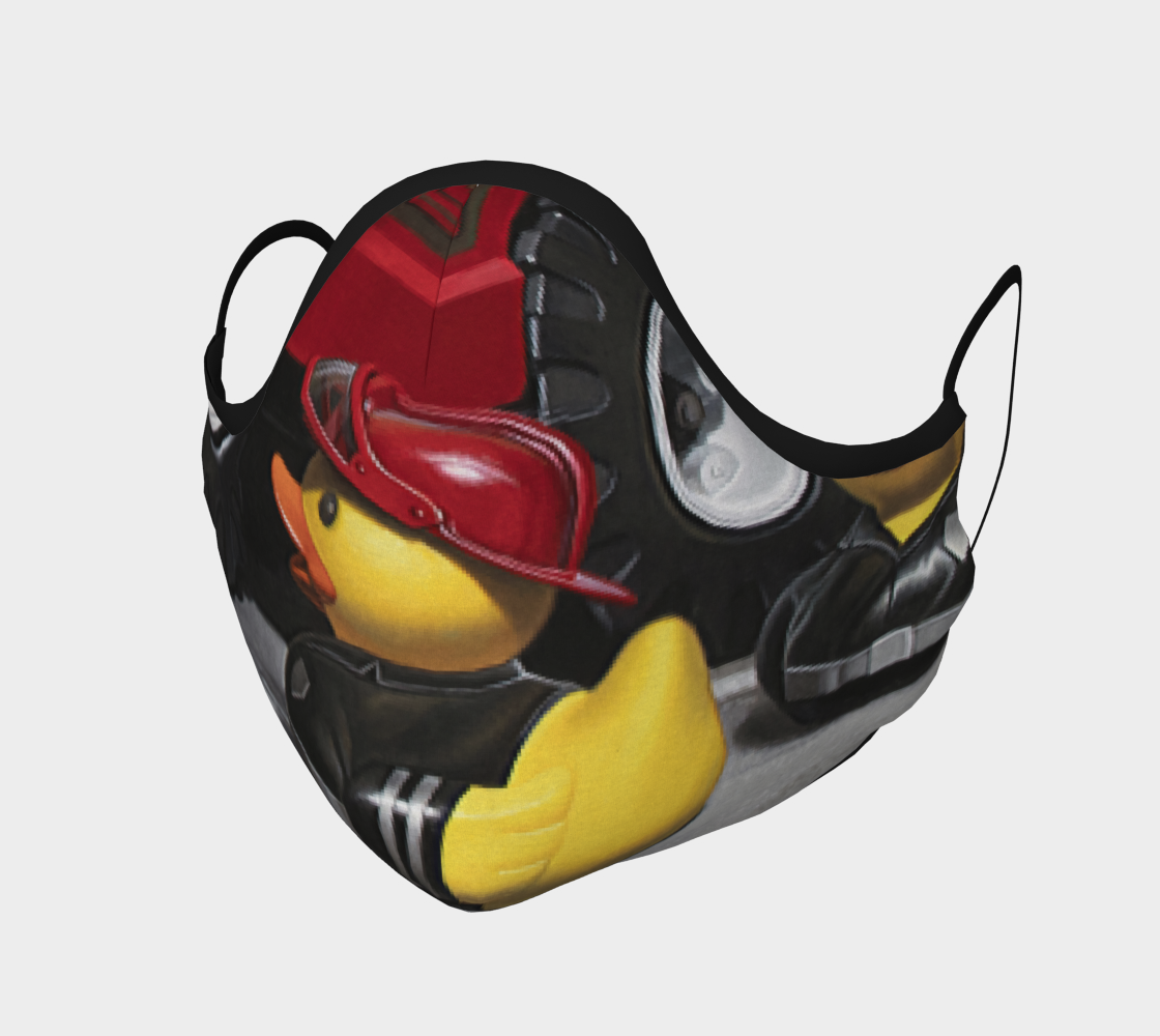 Fire Quackers Face Mask preview