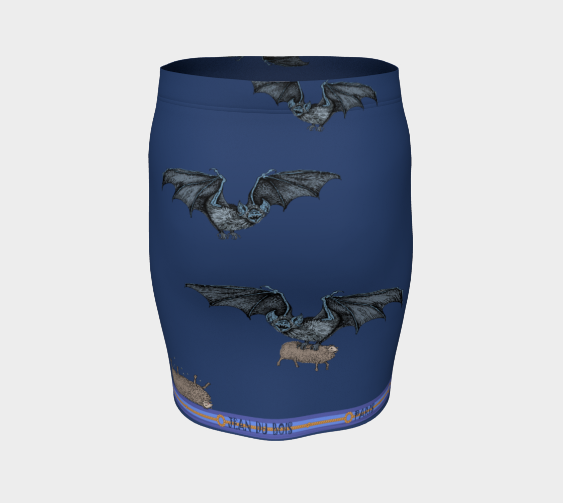 Halloween Fitted Skirt preview #4