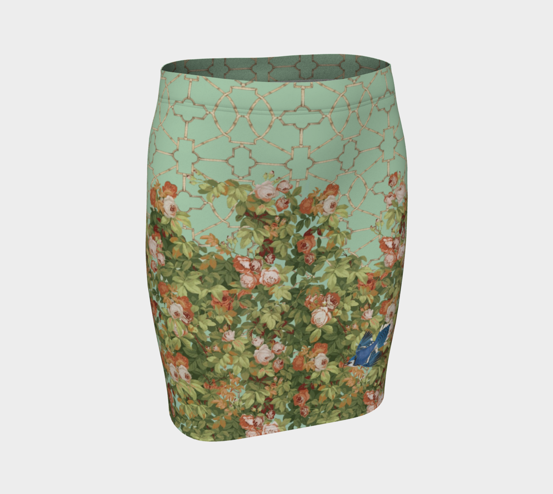 Roses Fitted Skirt II preview