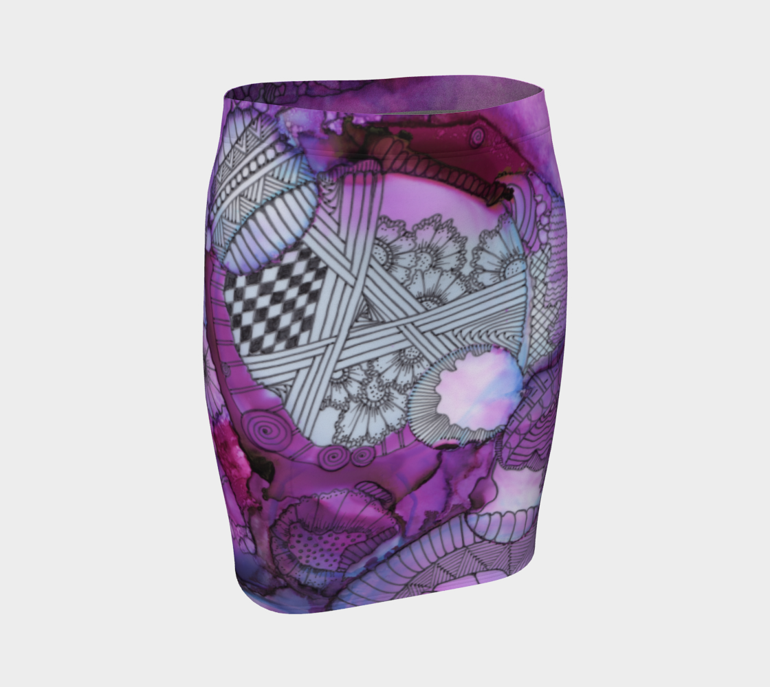 January1319 Fitted Skirt preview