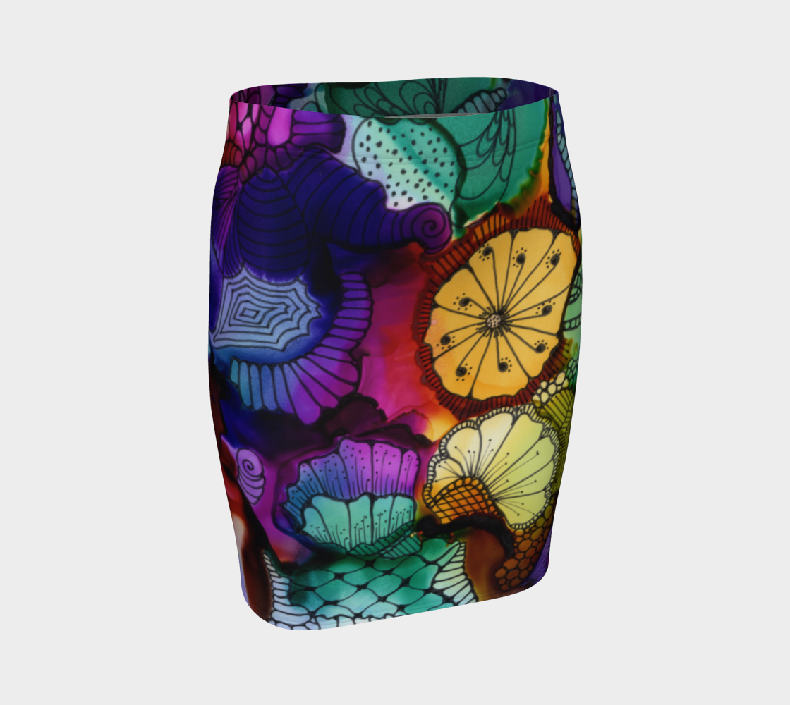 Art C 1 Fitted Skirt preview