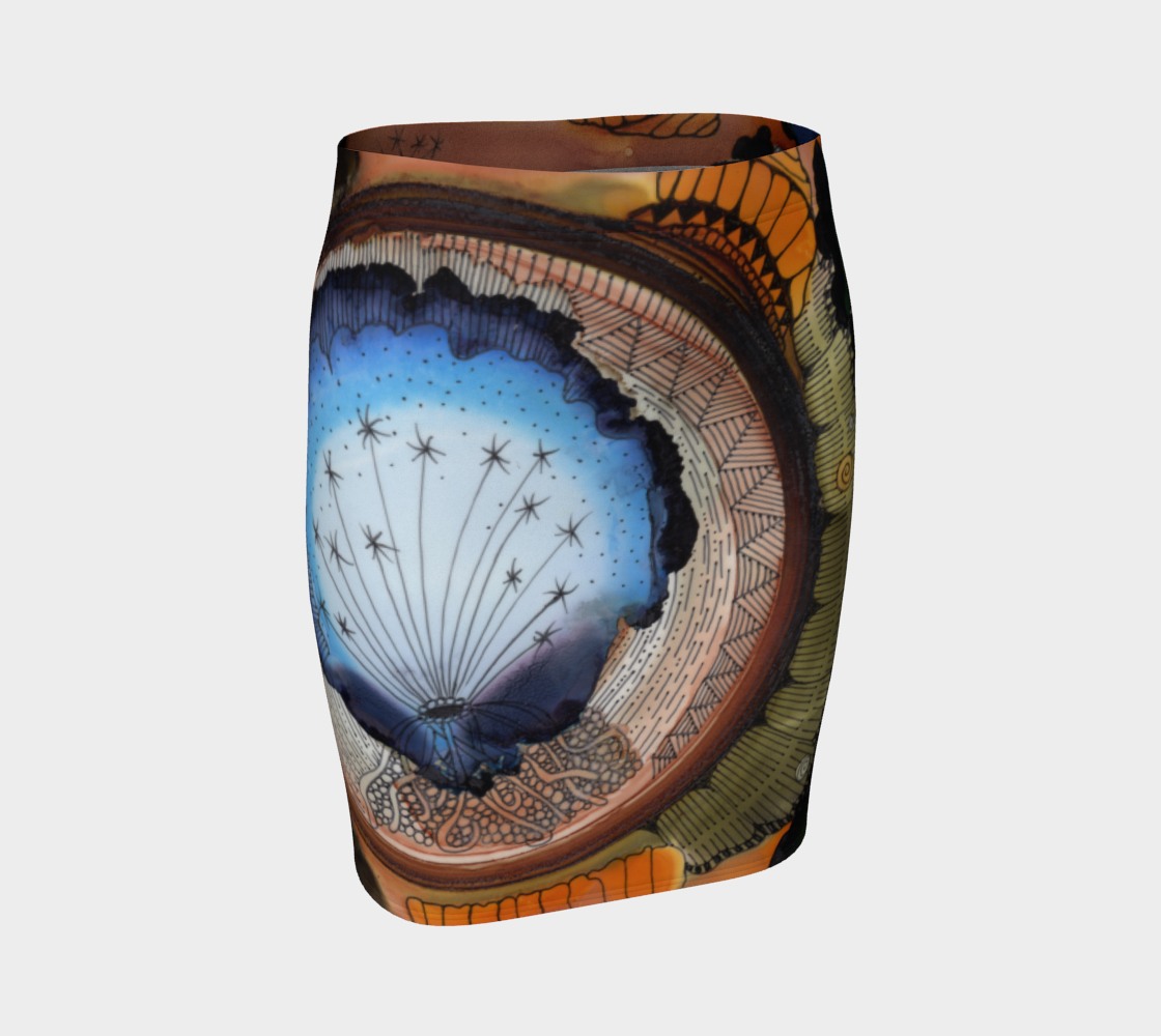 Dreamer Fitted Skirt preview