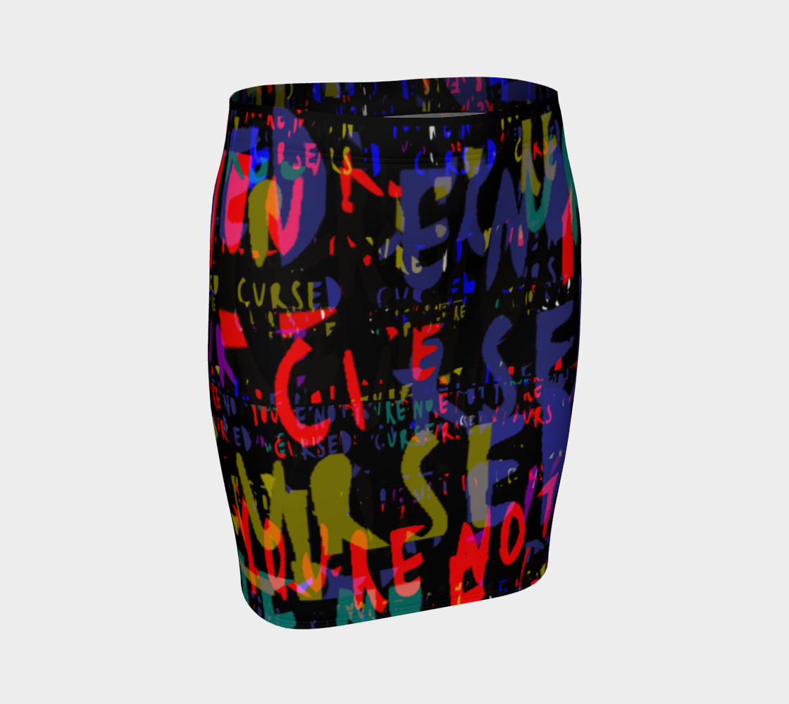 CURSE WORDS SKIRT preview