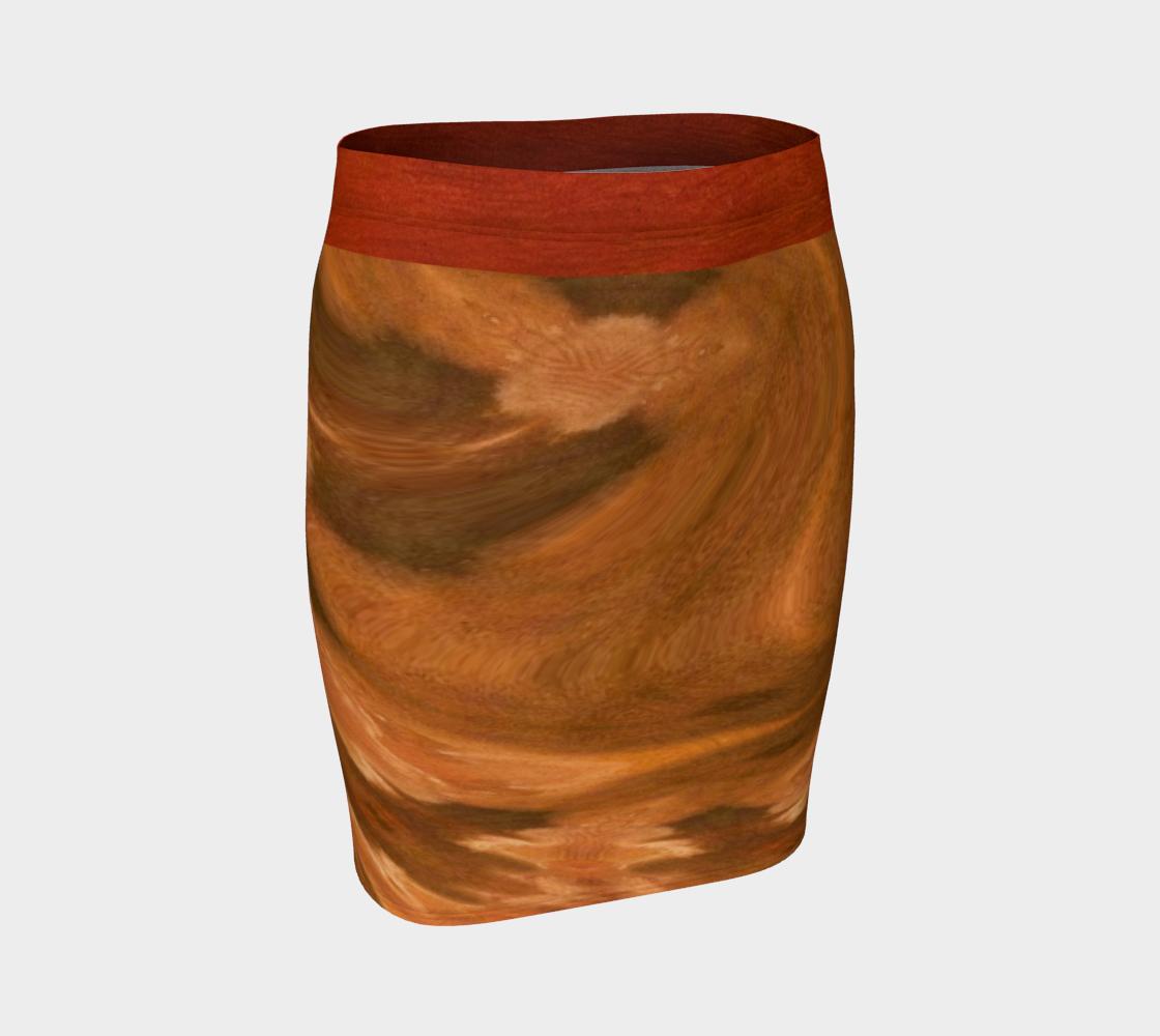 Terra Spun Sacred Vase Fitted Skirt preview