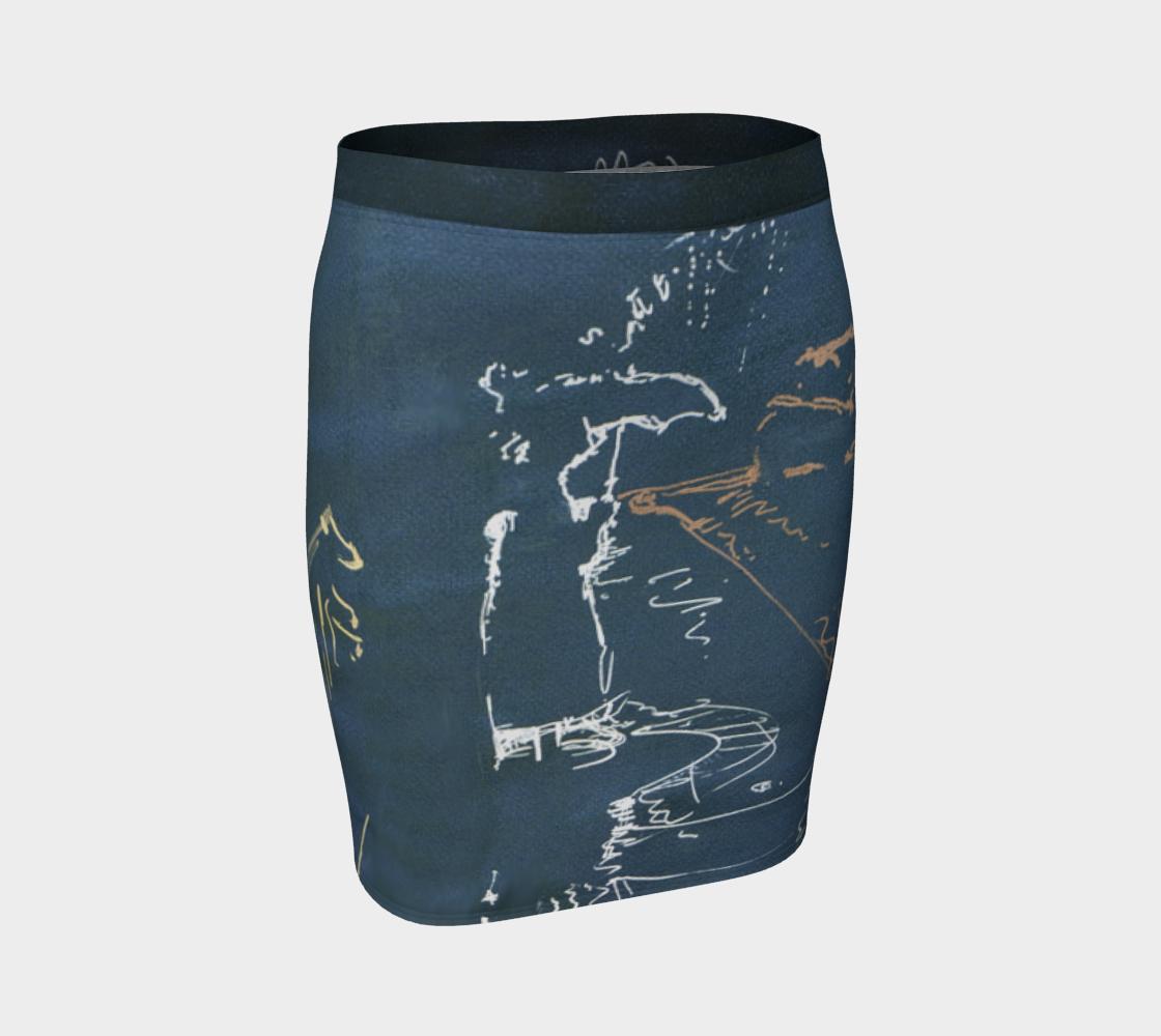 Carbon St. Rainy Day Woman Skirt w/Virtual Belt preview