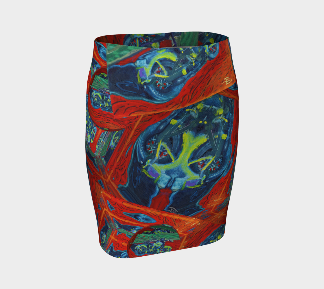 Soft Harley Watches Fitted Skirt / Devin Fashion-Match Art preview