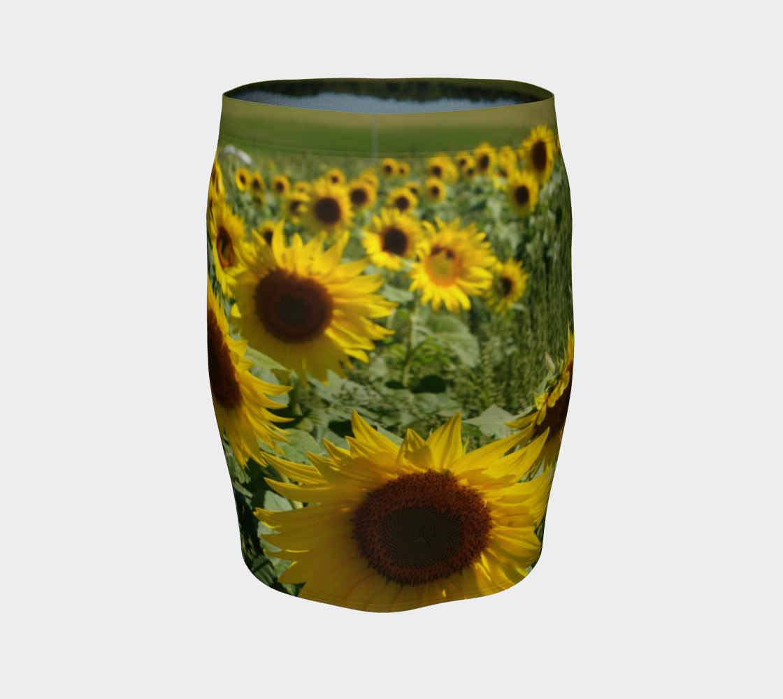 Sunflower Fitted Skirt preview #4