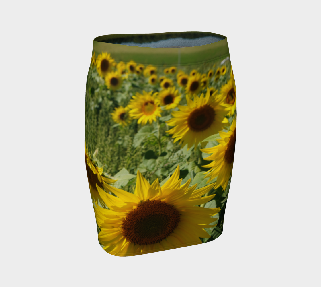 Sunflower Fitted Skirt preview